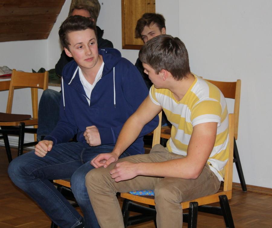 Szenenimprovisation 1, beim Casting, (Bild: Laura Berndt)