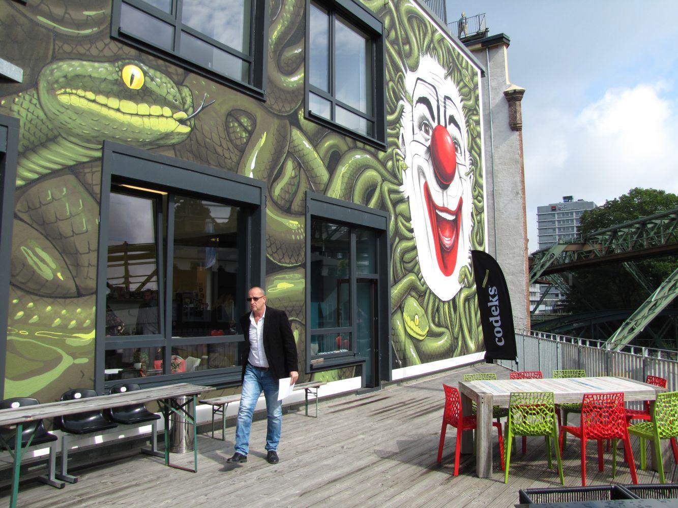 1.Dreh in Wuppertal