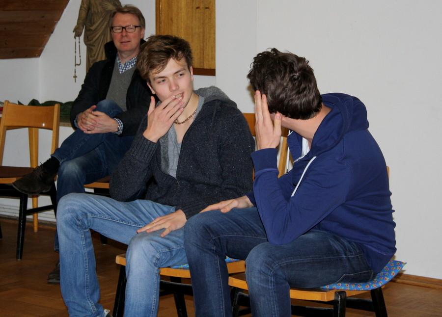 Szenenimprovisation 2, beim Casting, (Bild: Laura Berndt)