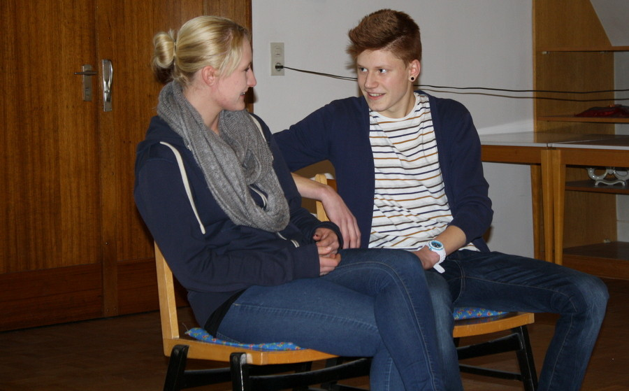 Szenenimprovisation 3, beim Casting, (Bild: Laura Berndt)