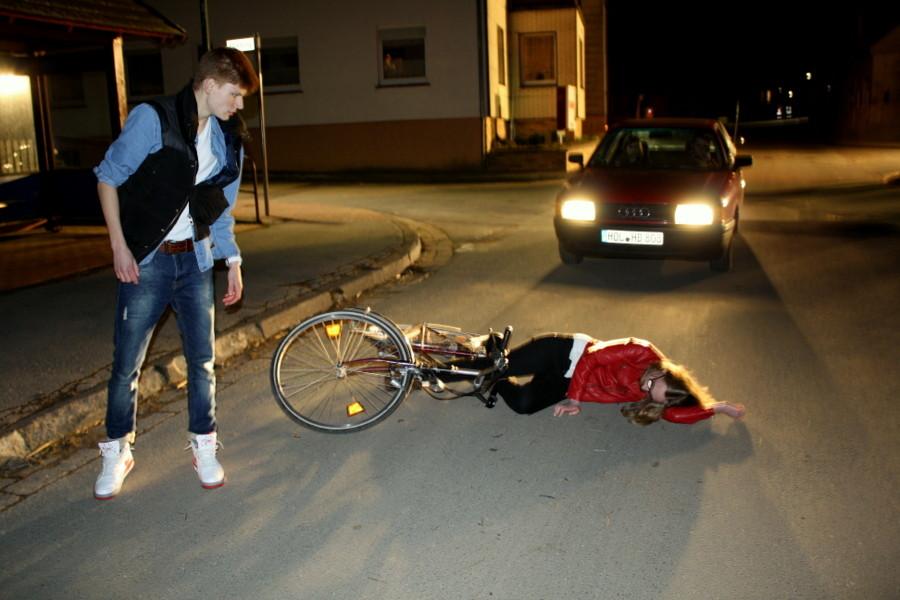 Szene: Unfall (Bild: Laura Berndt)