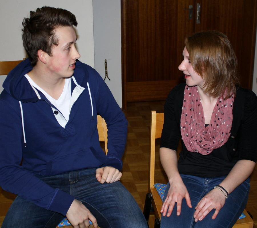 Szenenimprovisation 5, beim Casting, (Bild: Laura Berndt)