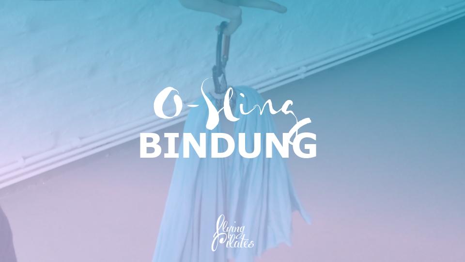 Das Tuch binden: O-Sling Bindung