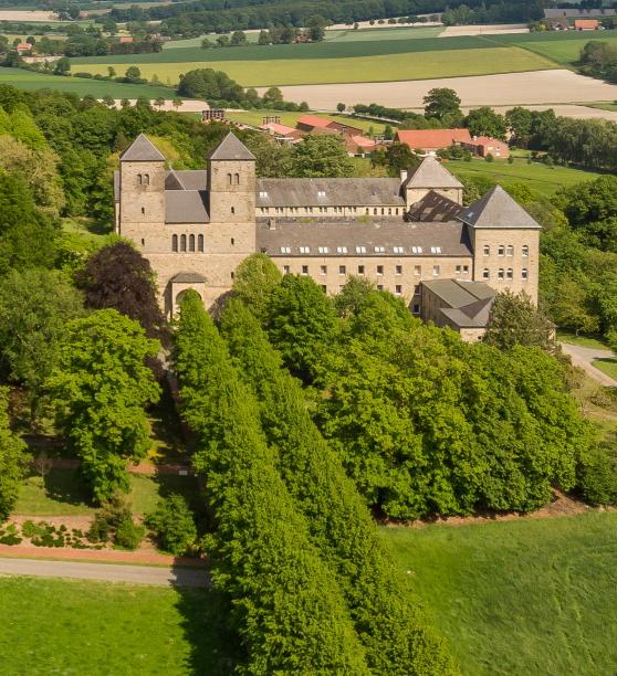 Benediktienerabtei Kloster Gerleve in den Baumbergen bei Münster