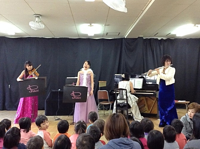 北昭和台保育所訪問コンサート