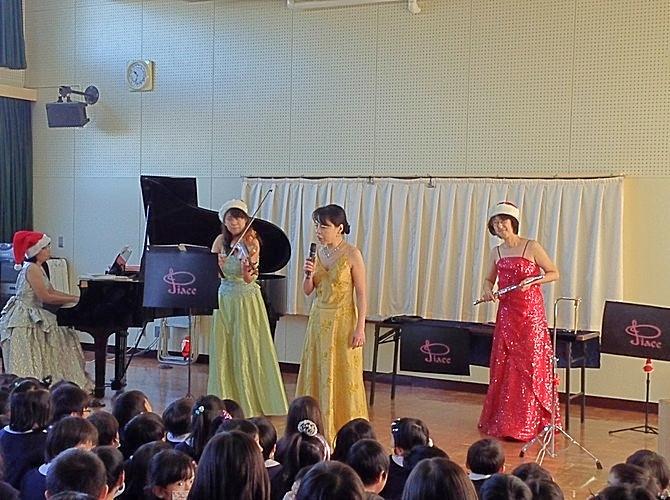 池田市立ひかり幼稚園訪問コンサート