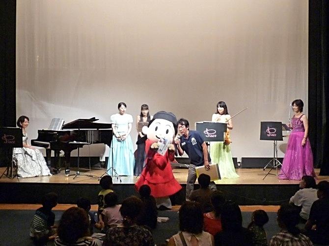 まなり君と一緒♪藤井寺市民会館ファミリーコンサート