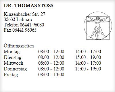 Website-Pate Dr. Thomas Stoß