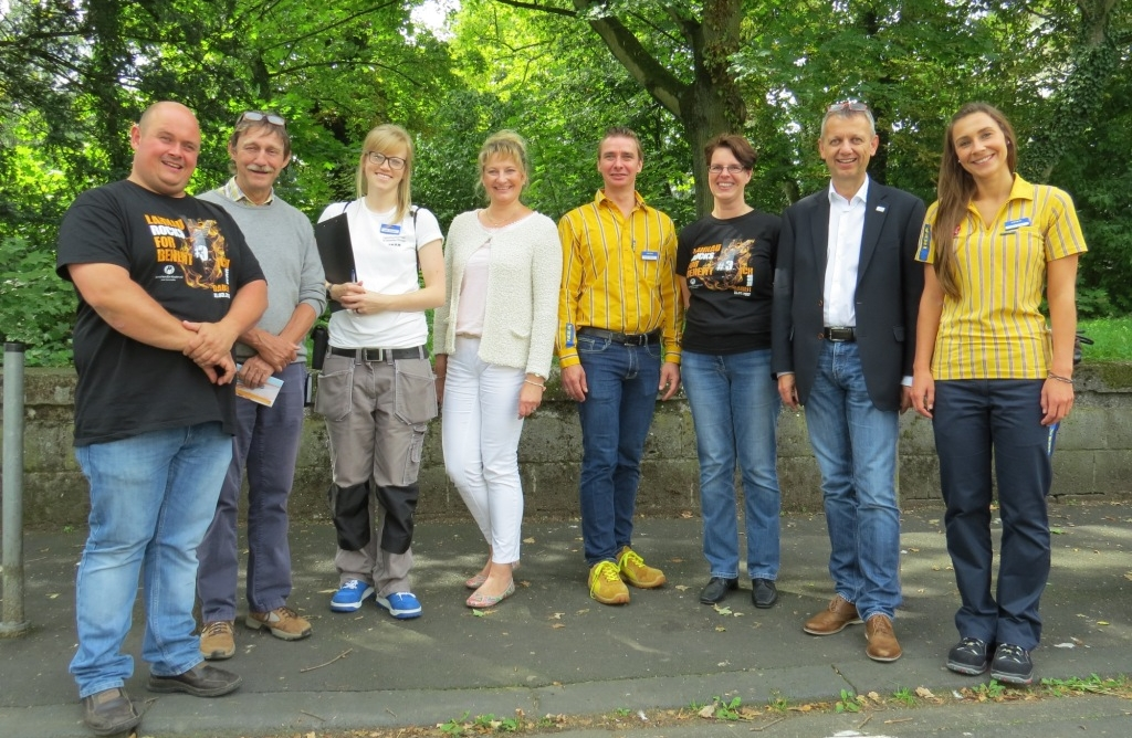 Andreas Wudi (LRFB), Dr. Jürgen Bauer (UKGM), Julia Jochem (IKEA), Britta Haunert (UKGM), Frank Detert (IKEA), Susanne Burzel (LRFB), Matthias Späth (MfK), Lena Bolte (IKEA)