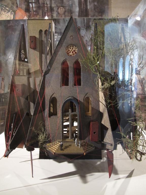 Dijon Vu Par: Parvis Saint Jean, création Hervé Arnoul.Exposition