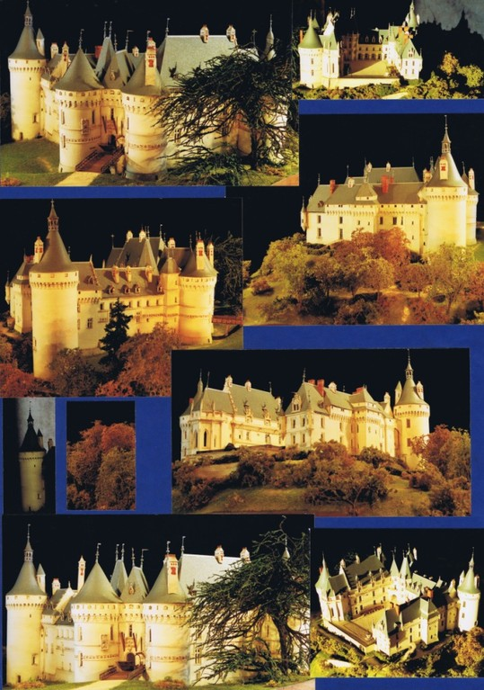 Meilleur Ouvrier de France, 2011, maquette du château de Chaumont-sur-Loire.1/200e. Réalisation Hervé Arnoul
