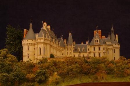 Meilleur Ouvrier de France, 2011, maquette du château de Chaumont-sur-Loire.1/200e