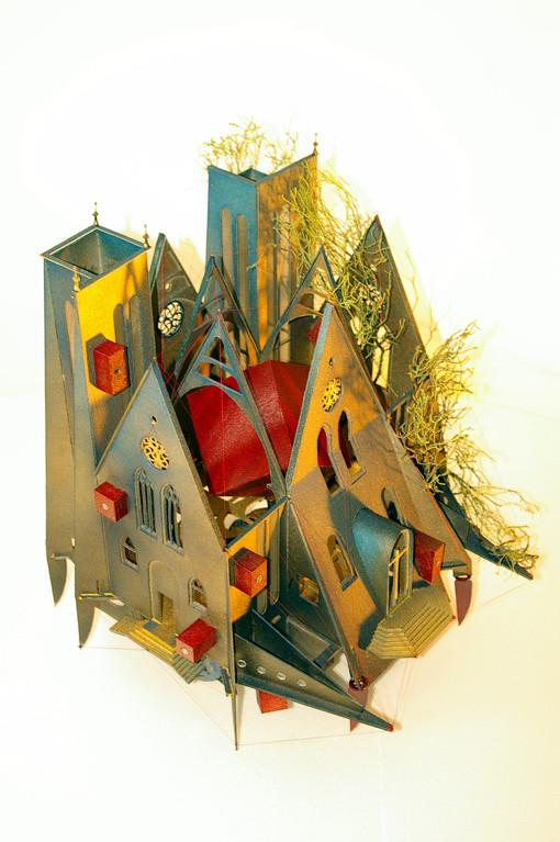 Dijon Vu Par: Parvis Saint Jean, création Hervé Arnoul