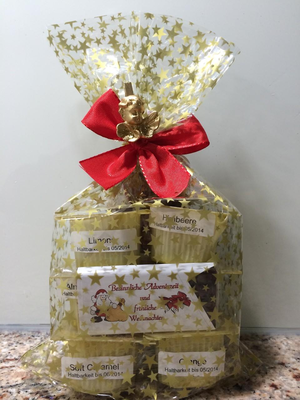 Weihnachtsgeschenk verpackt mit BT
