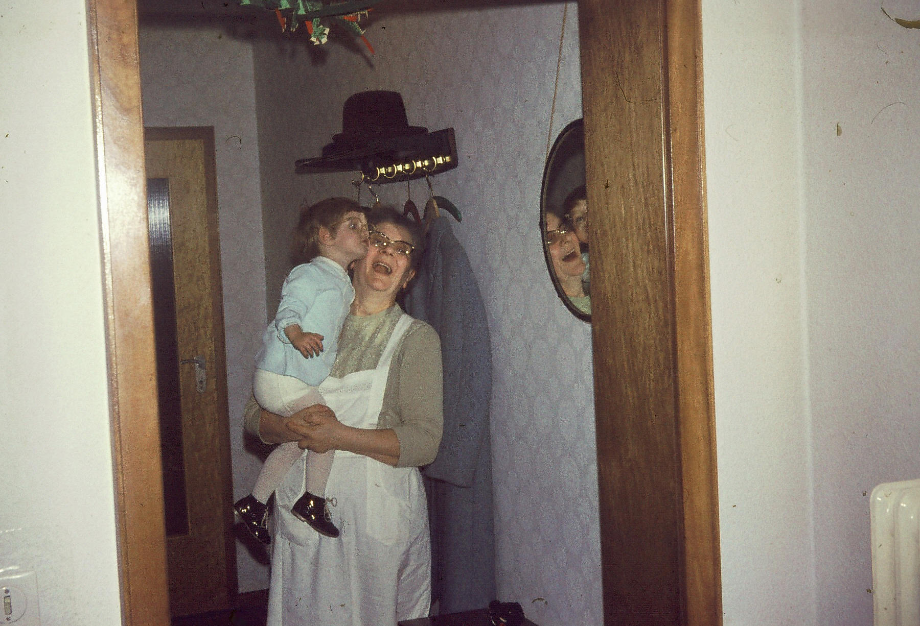 Mit Omas Brille