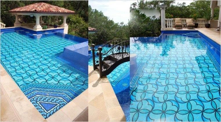 Fondos piscinas for Material piscina barato