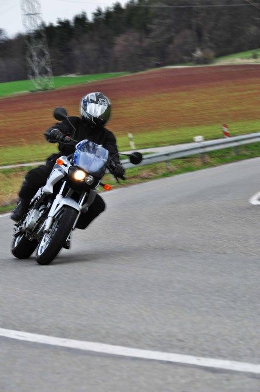 Klasse A2 Motorrad BMW 650 CS