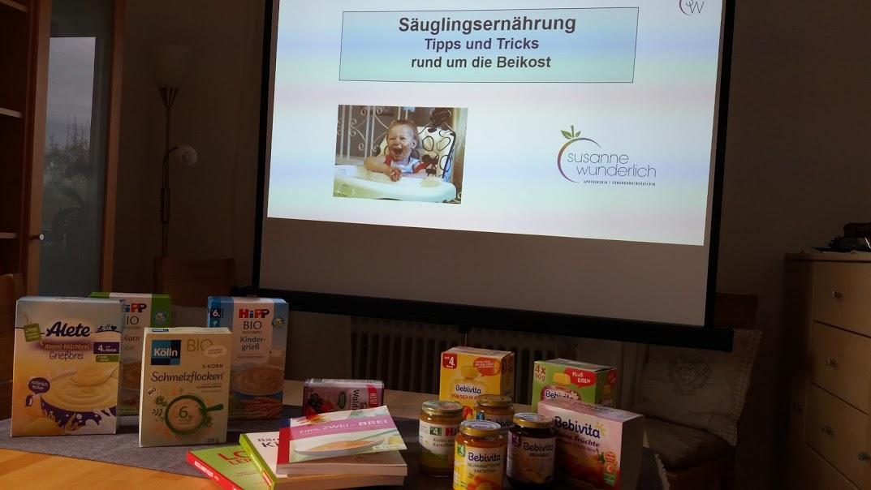 Vortrag zum Thema: Säuglingsernährung***Tipps und Tricks rund um die Beikost