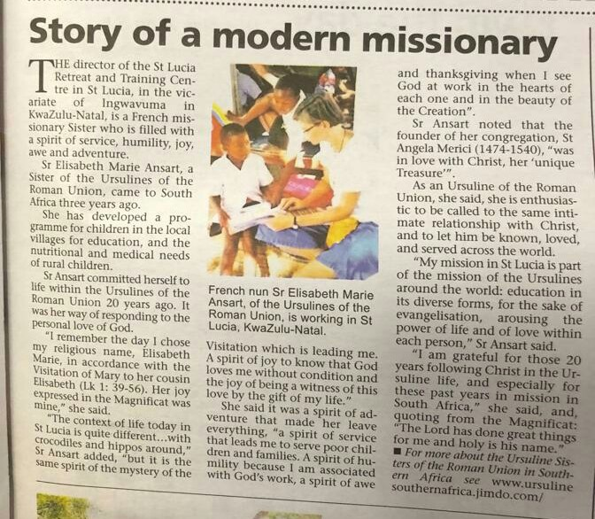 Story of a modern missionary