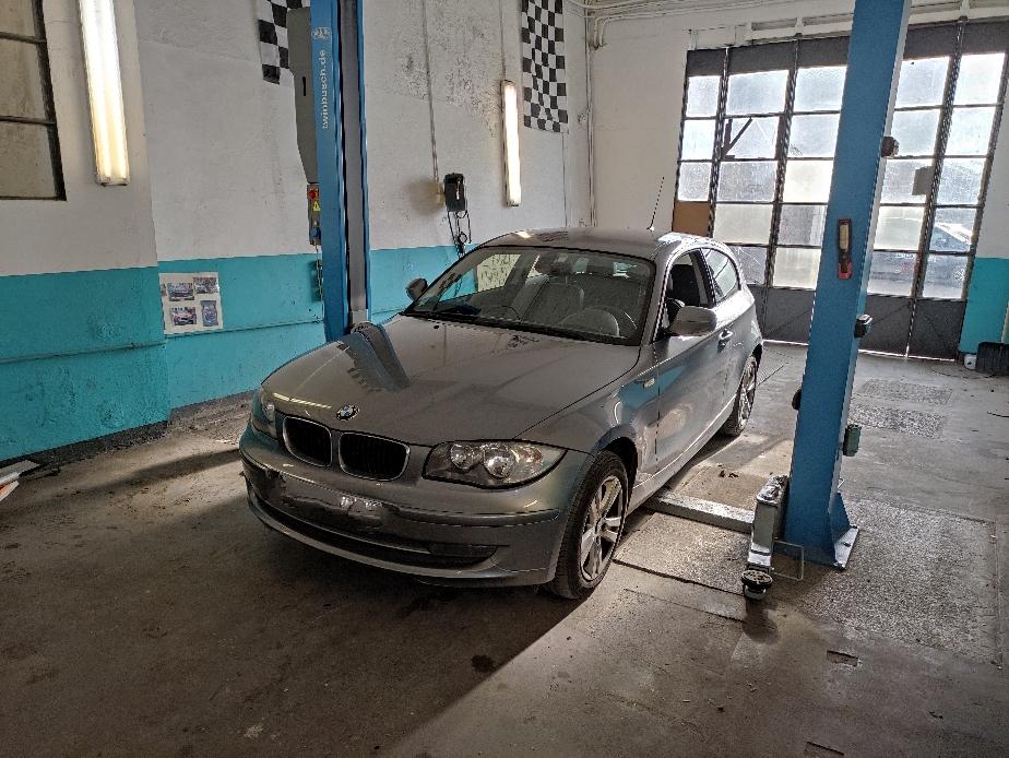 Entretien complet sur BMW 118D
