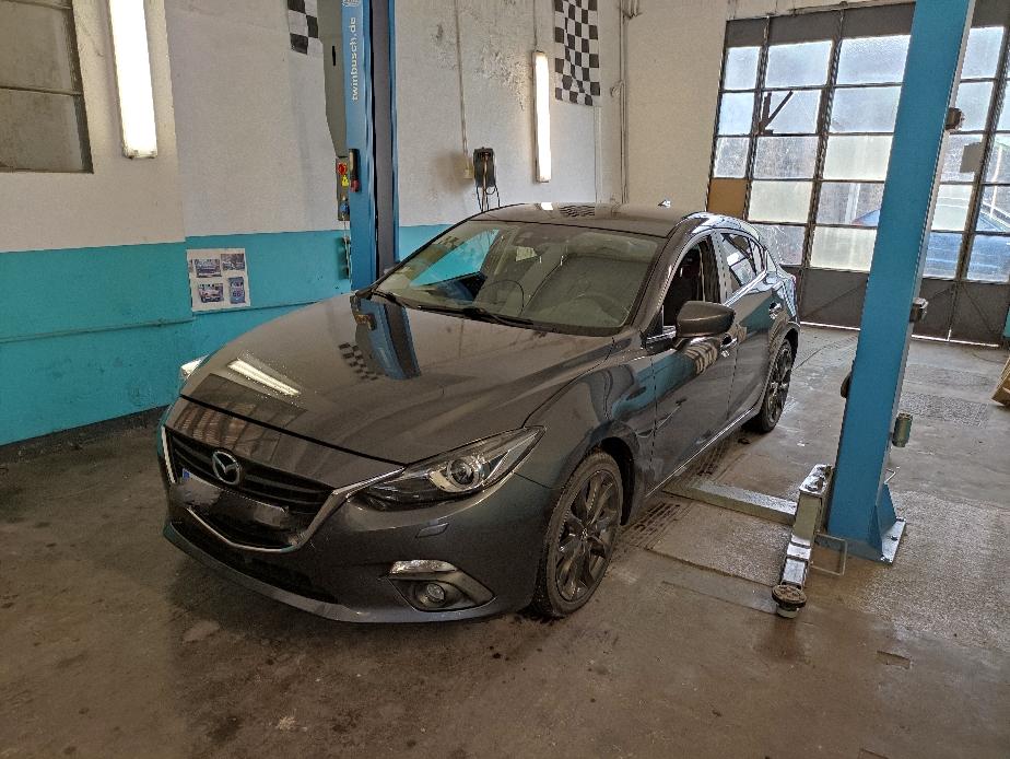 Entretien annuel sur Mazda 3