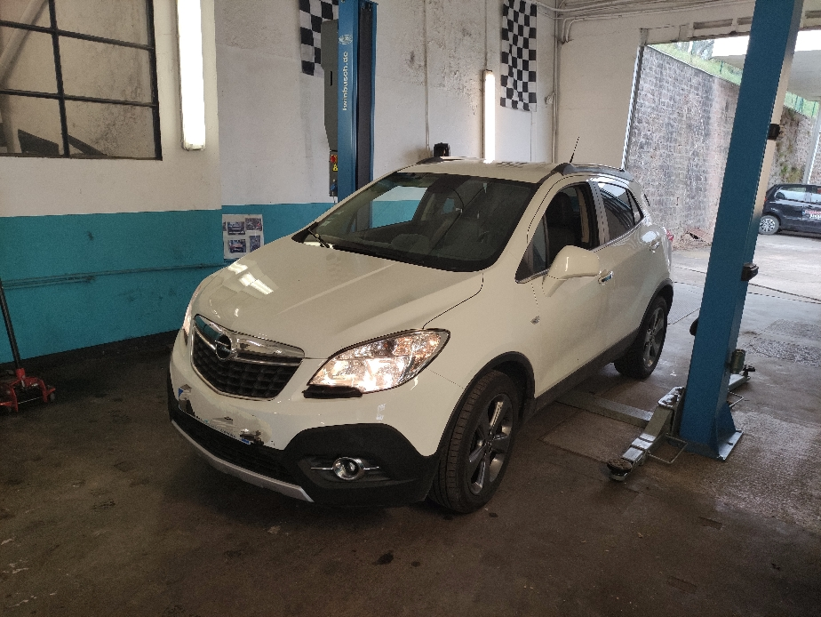 Entretien complet sur Opel MOKKA