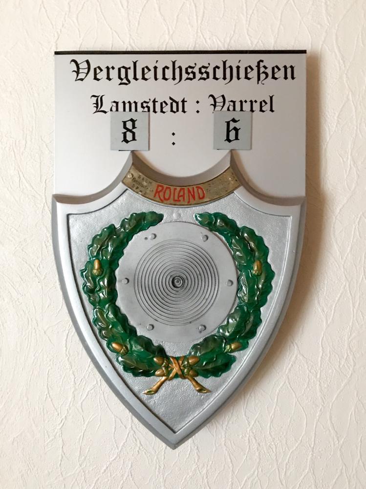 """Foto: Die aktuelle """"ewige Tabelle"""" des Lamstedt-Varrel-Vergleichsschießens (Stand: 2018)."""