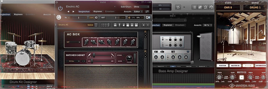 Homerecording - We fix it in the mix - Auswahl an PlugIns