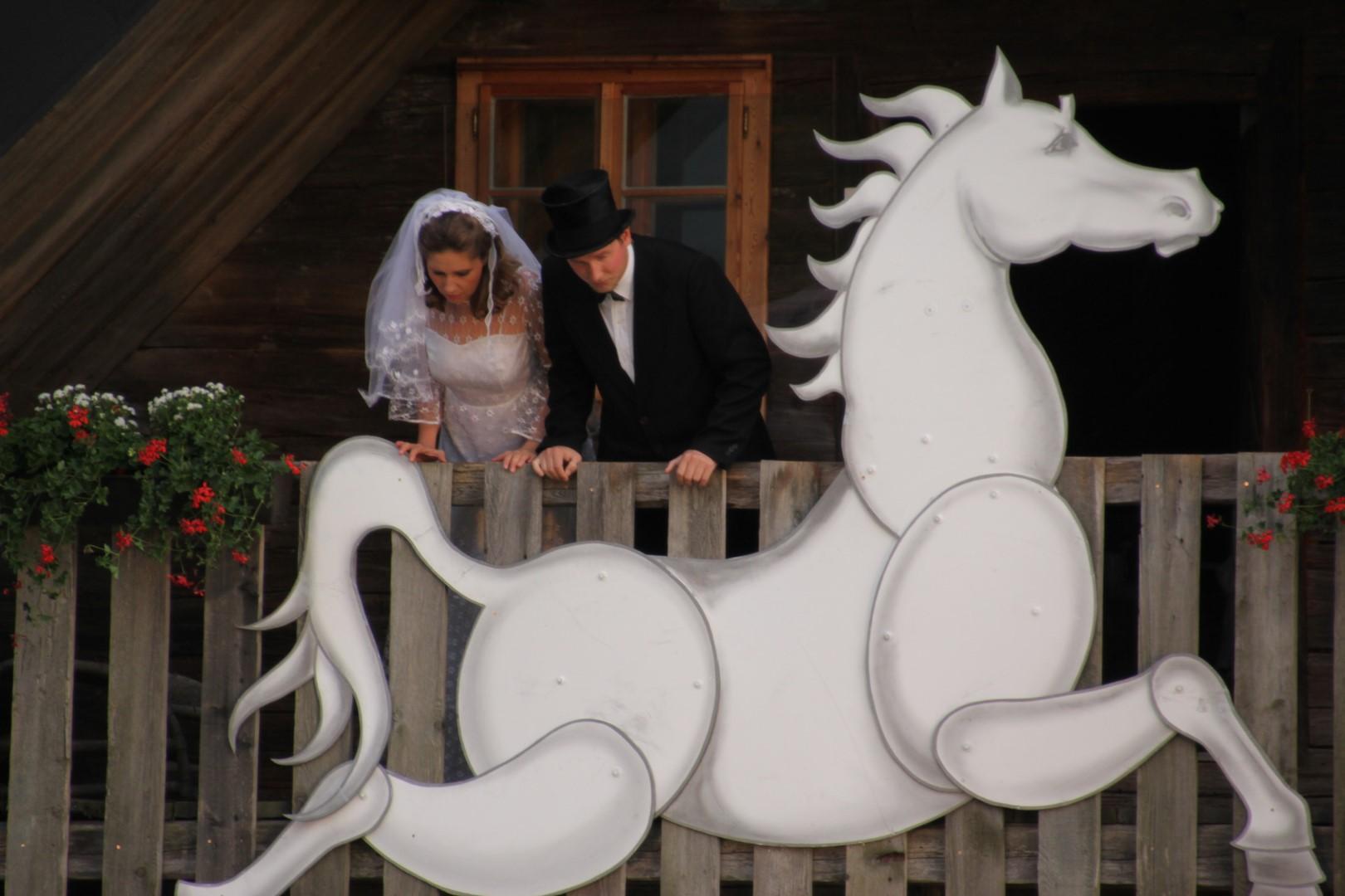 """2011: """"Ein Hochzeitspaar"""" in """"Im weißen Rössl"""""""