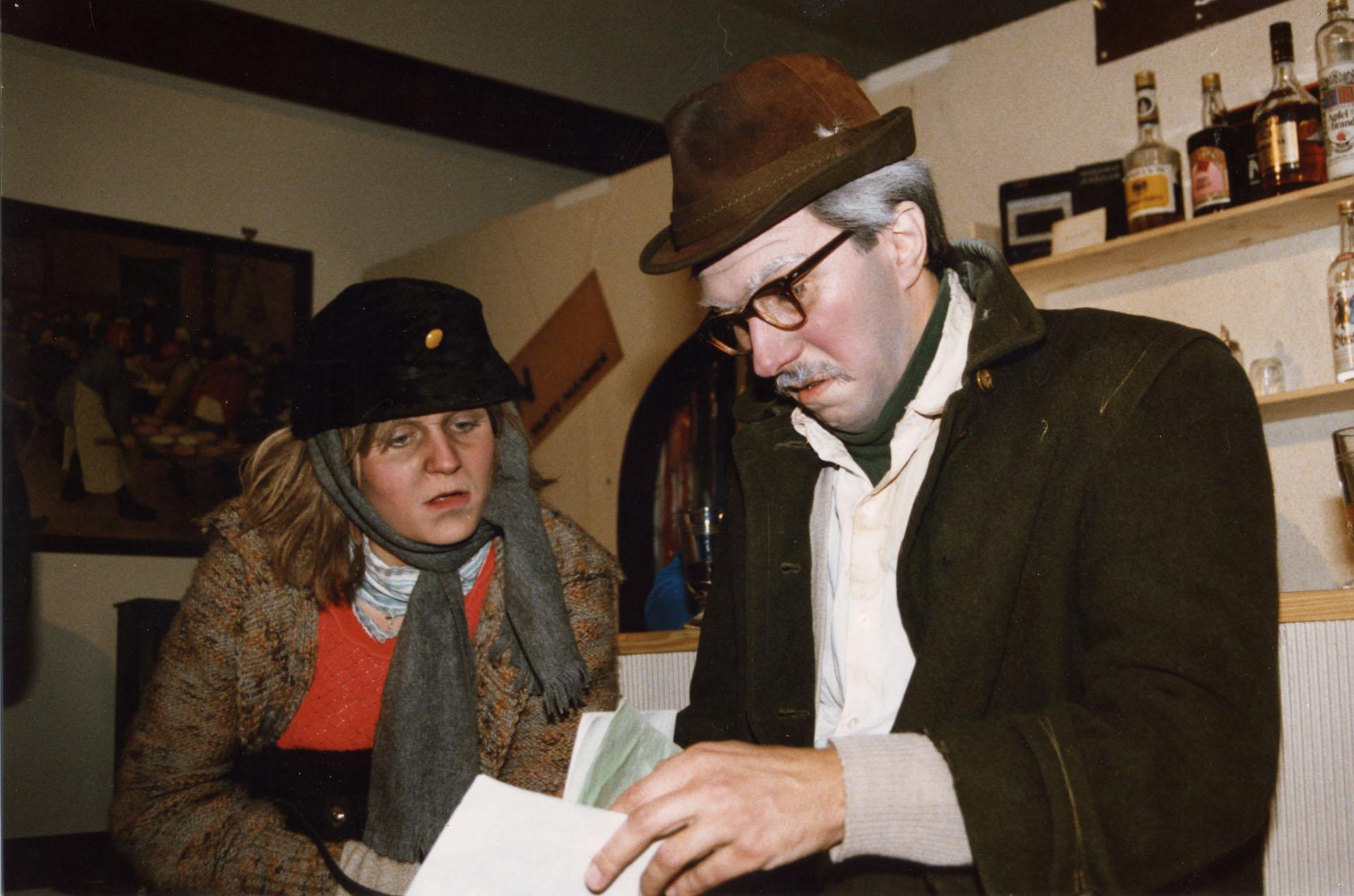 """1986: """"Tschinkerl"""" in """"Die geputzten Schuhe"""""""