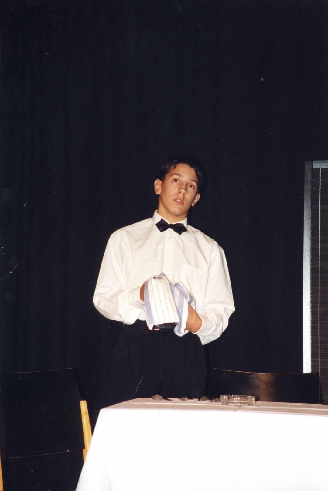 """1995: """"Piccolo"""" in """"Die geputzten Schuhe"""""""