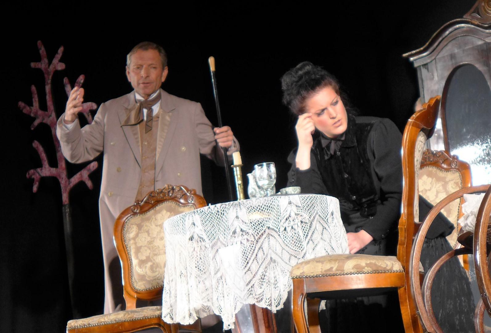 """2015: """"Gajew Andrejewitsch"""" in """"Der Kirschgarten"""""""
