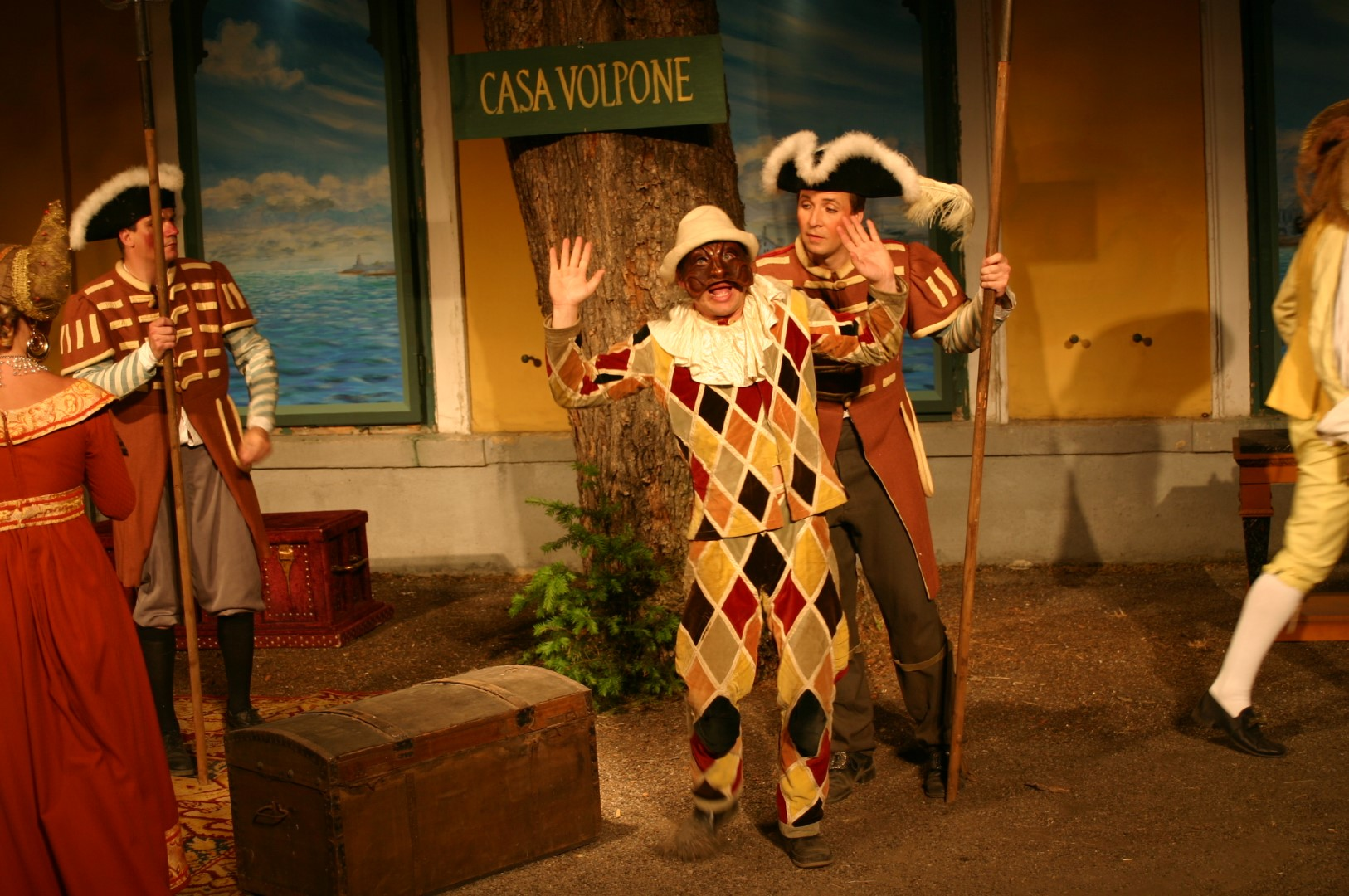 "2005: ""Mosca"" in ""Volpone"""