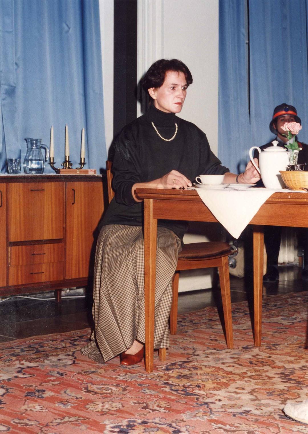"""1994: """"Babette"""" in """"Biedermann und die Brandstifter"""""""