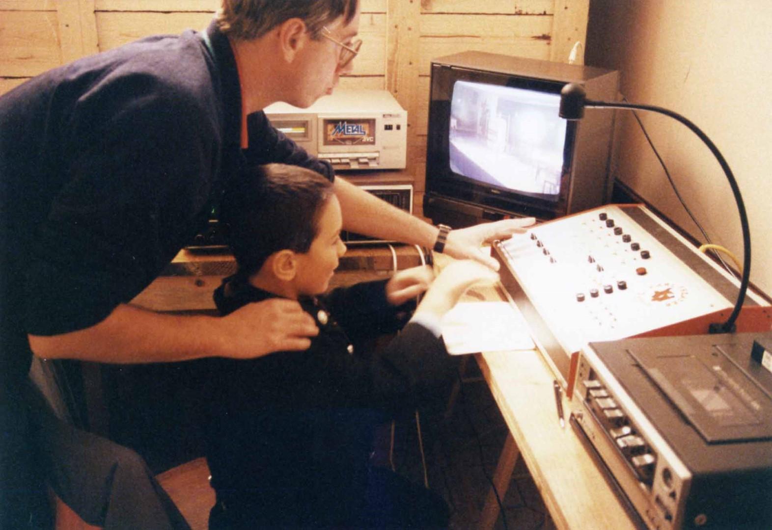 1989: Blick in die Technik mit Wolfgang Schön (Erde)