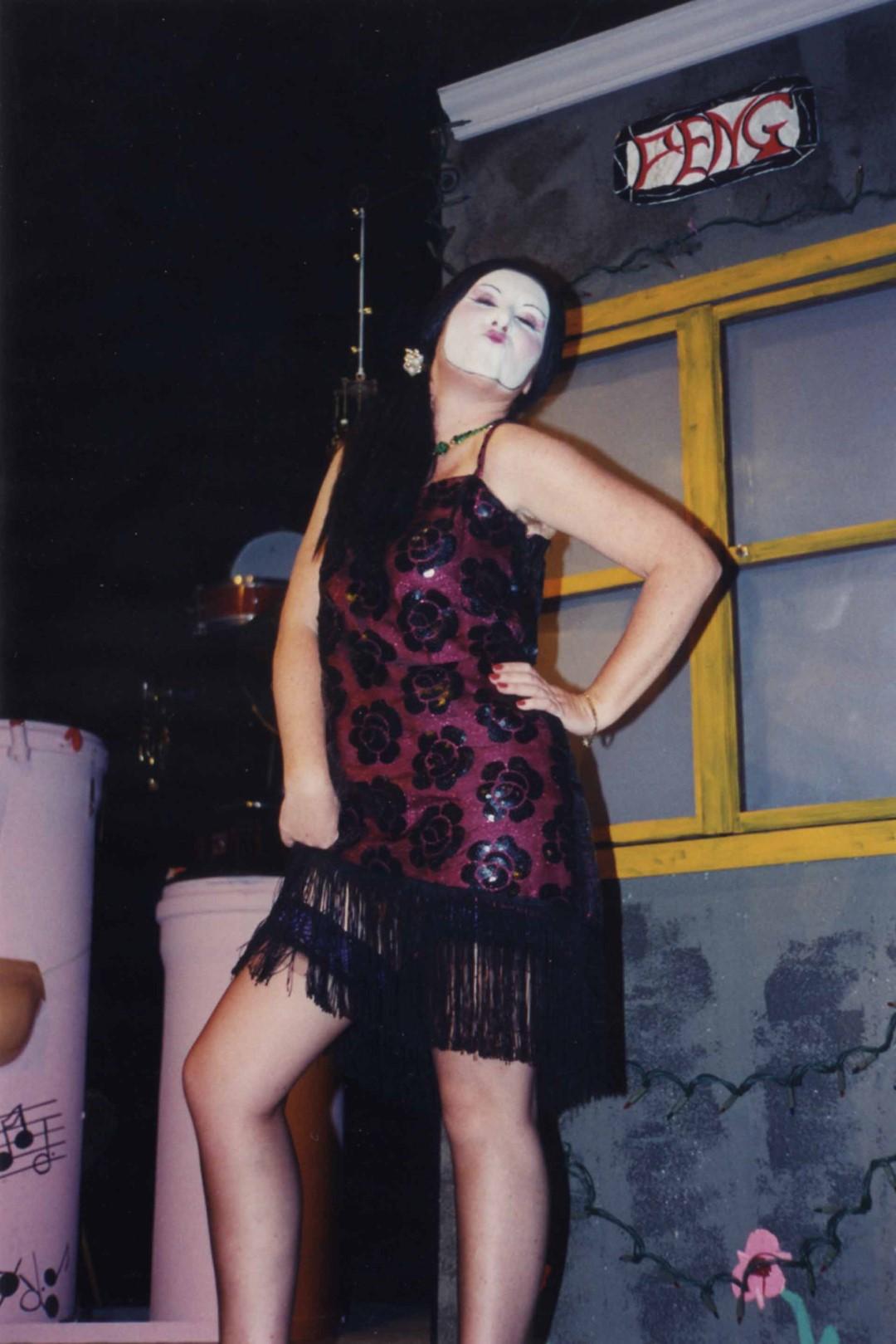"""1997: """"La Wong"""" in """"Die Kokotten von Puff-Peng"""""""