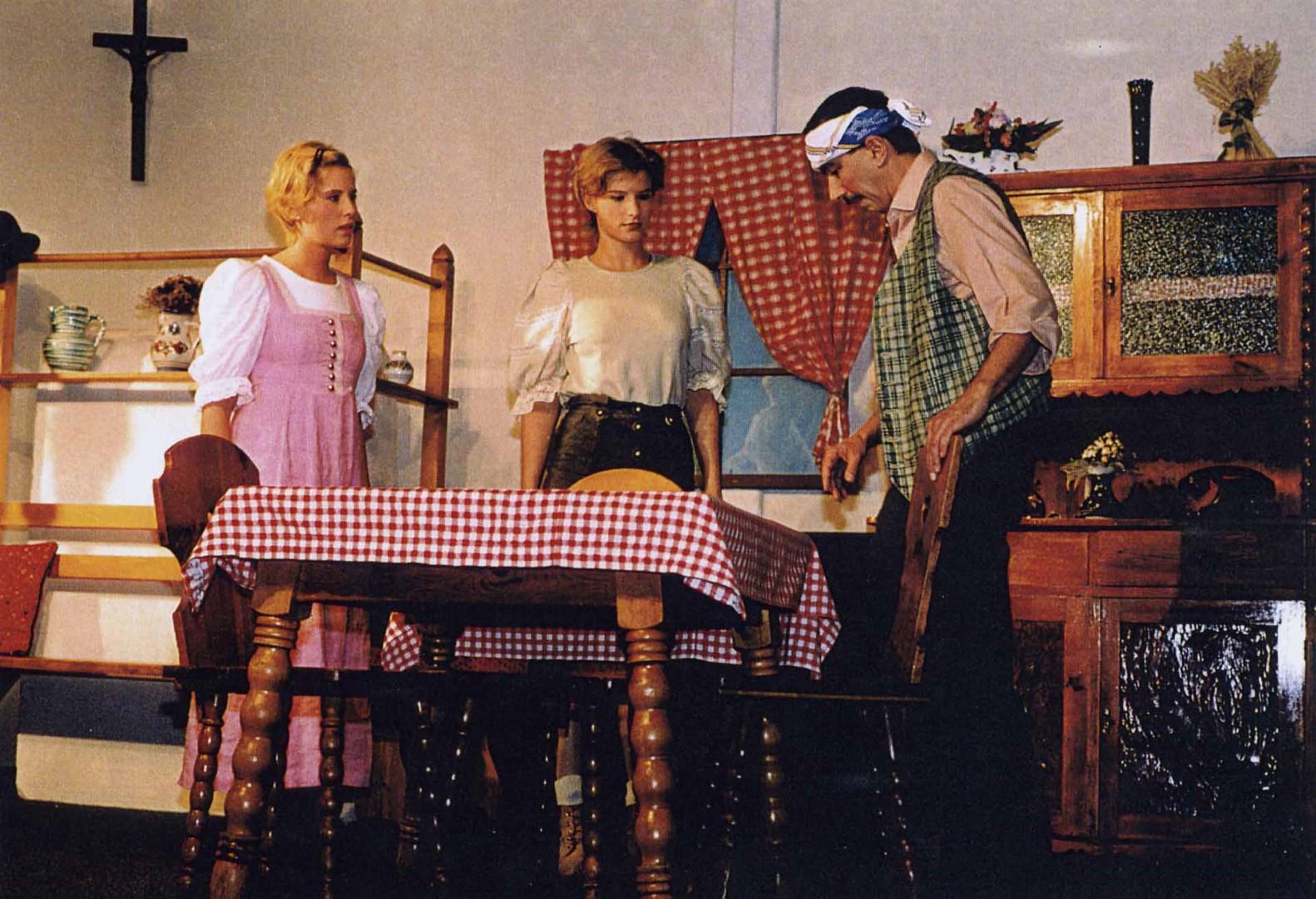"1999: ""Kathi"" in ""Die 3 Dorfheiligen"""