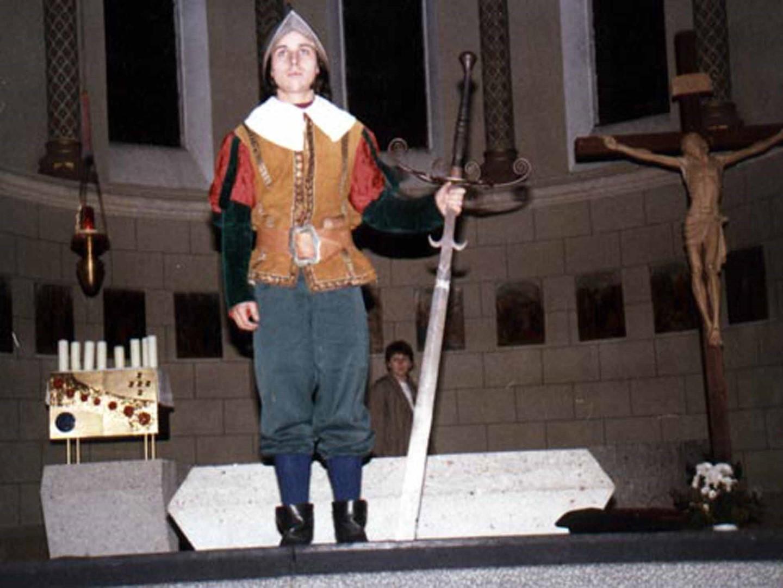 """1990: """"Landsknecht"""" in """"Totentanz"""""""