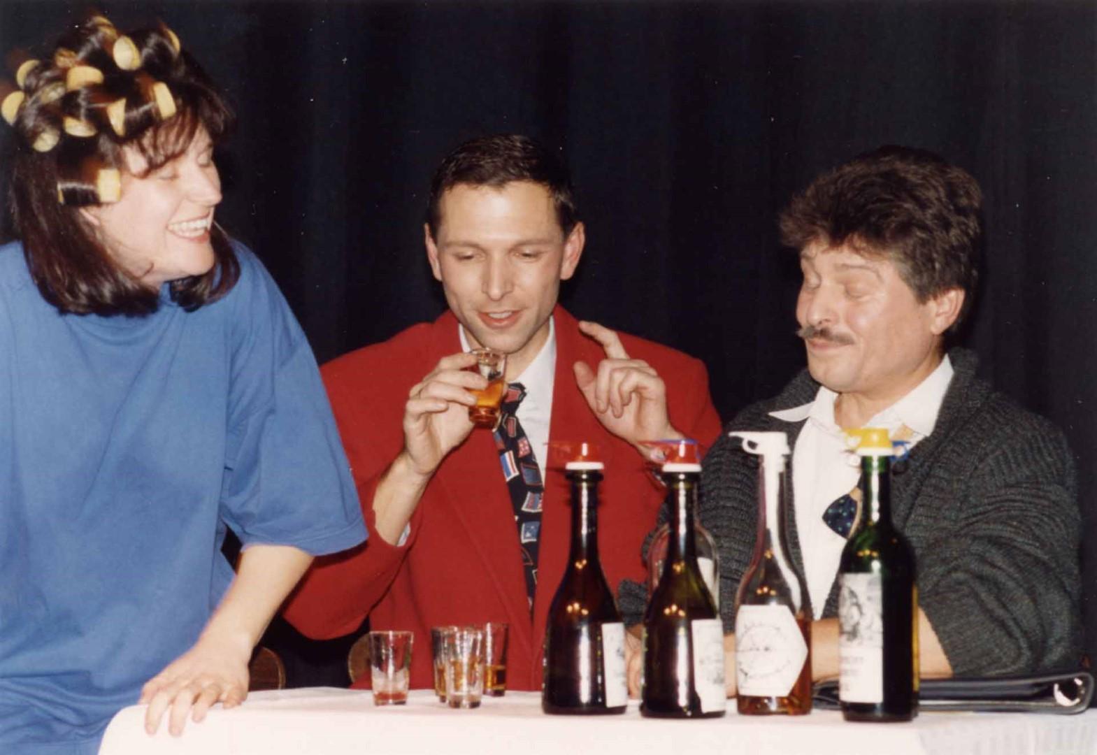 """1993: """"Vertreterbesuch"""" in """"Confetti"""""""