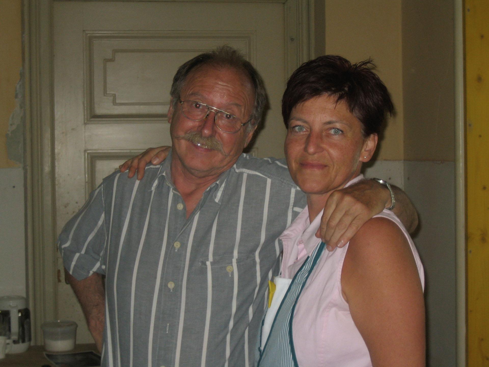 Buffet: Manfred Streng, Monika Jirowec bei VOLPONE 2005