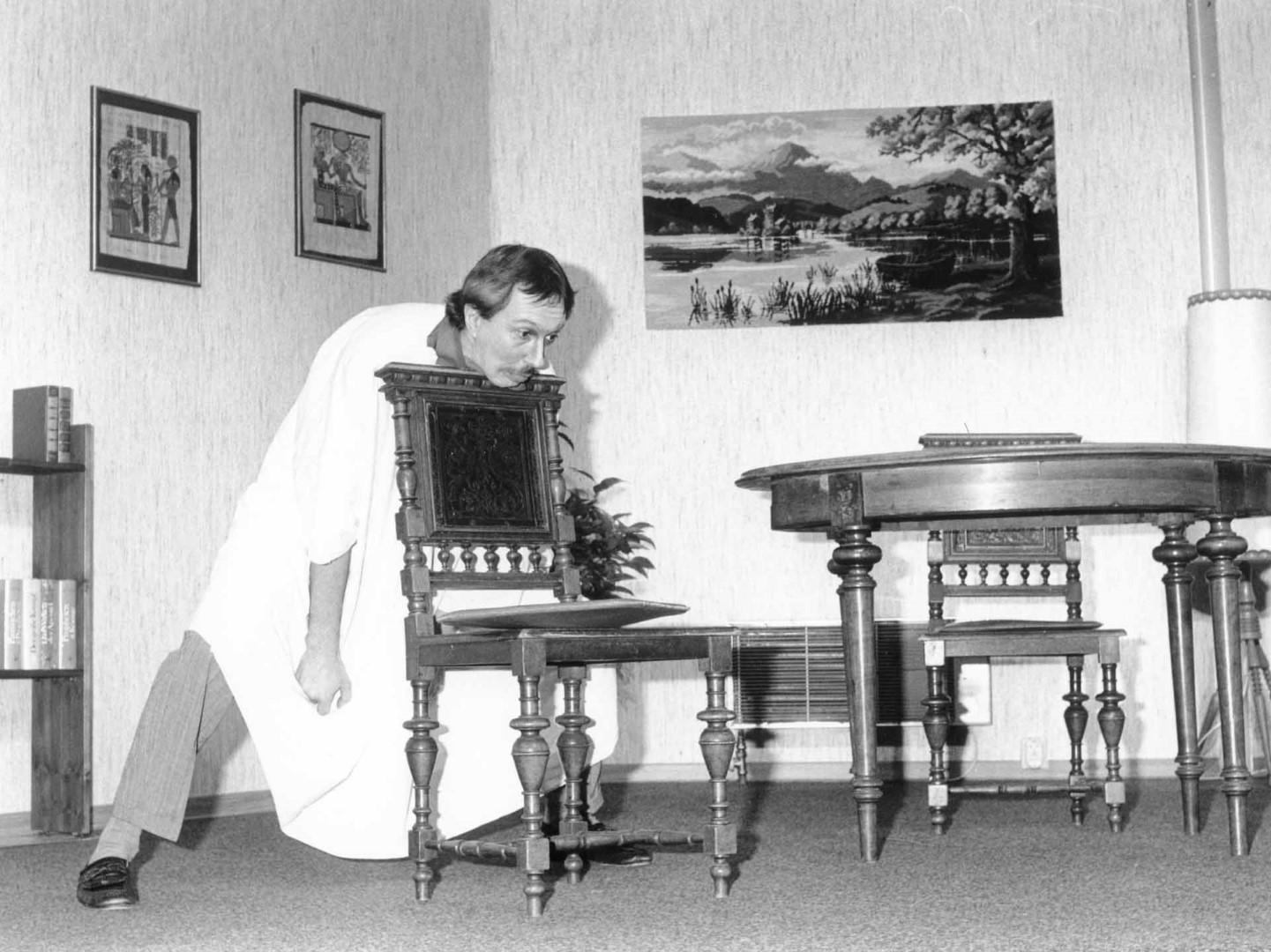 """1991: """"Theodor Gatterer"""" in """"Der irre Theodor"""""""