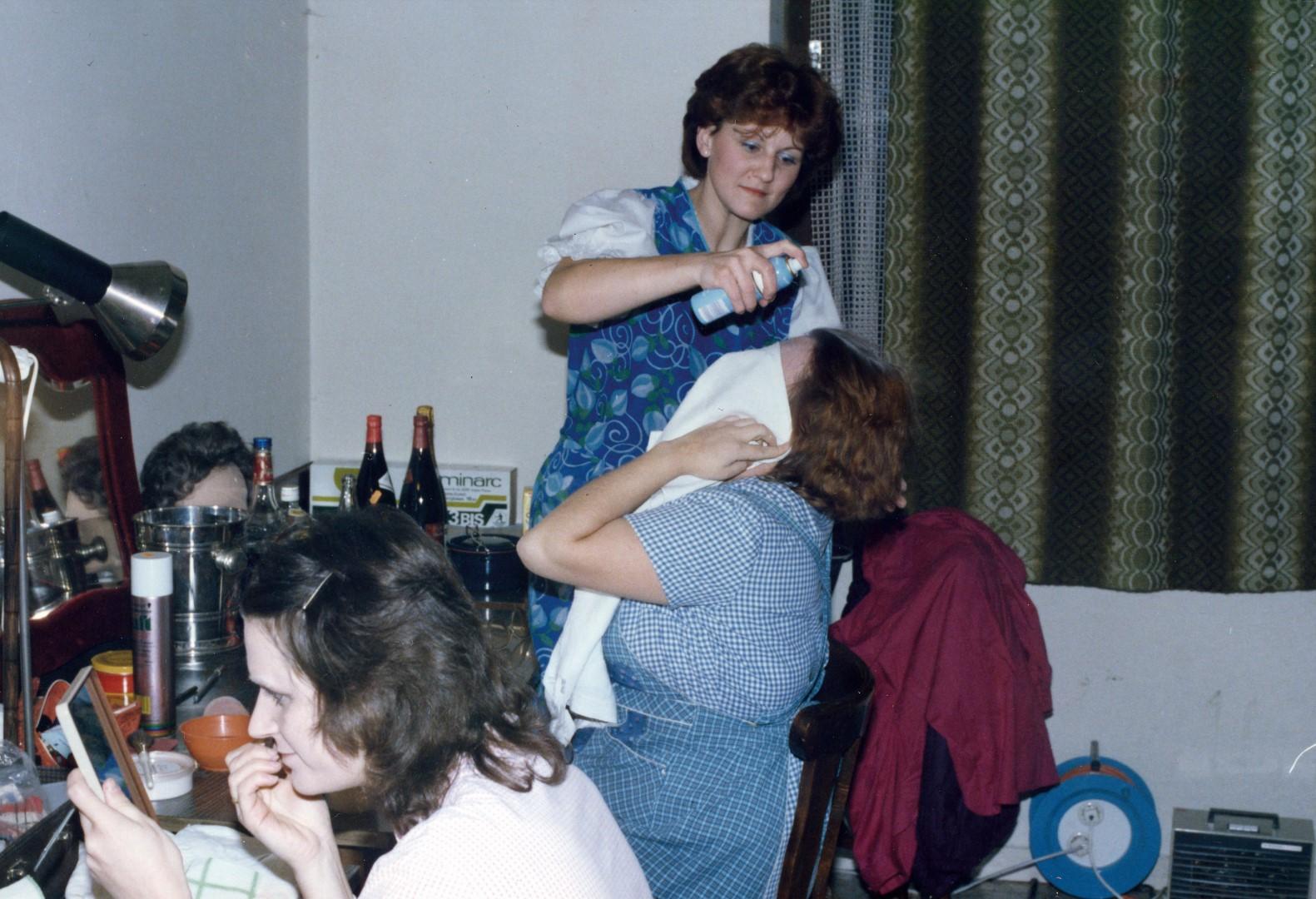"""1985: Maske bei """"Allerweil die Aufregungen"""""""