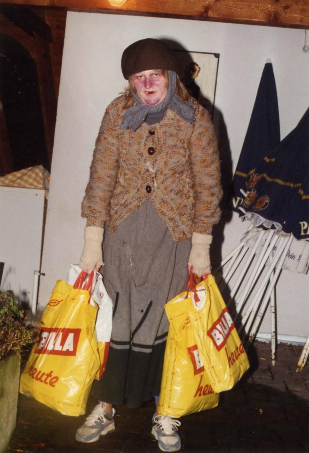 """1995: """"Emilie Sedlak"""" in """"Die geputzten Schuhe"""""""
