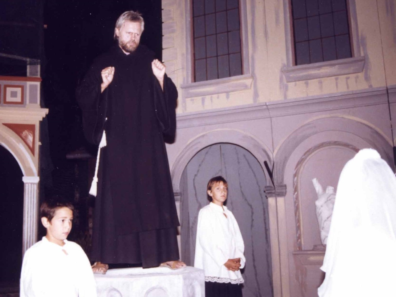 """1990: """"Ministrant"""" in """"Mandragola"""""""