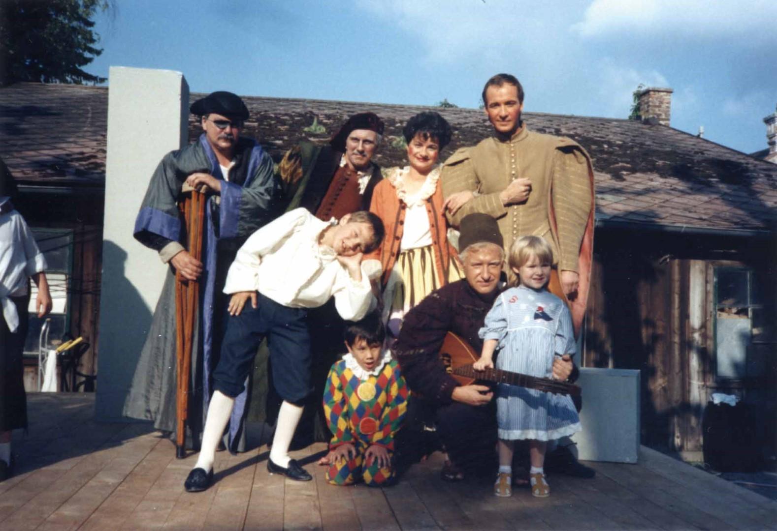 """1987: Kind in """"Scapins Schelmenstreiche"""""""