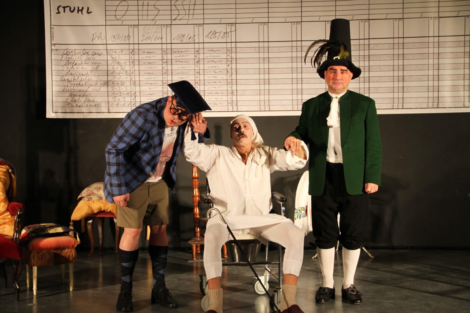 "2012: ""Monsieur Diaforius"" in ""Der eingebildete Kranke"""