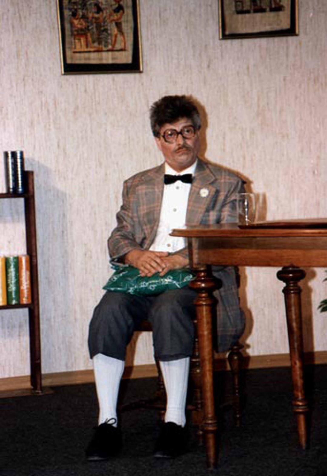 """1991: """"Benjamin Holzapfel"""" in """"Der Irre Theodor"""""""