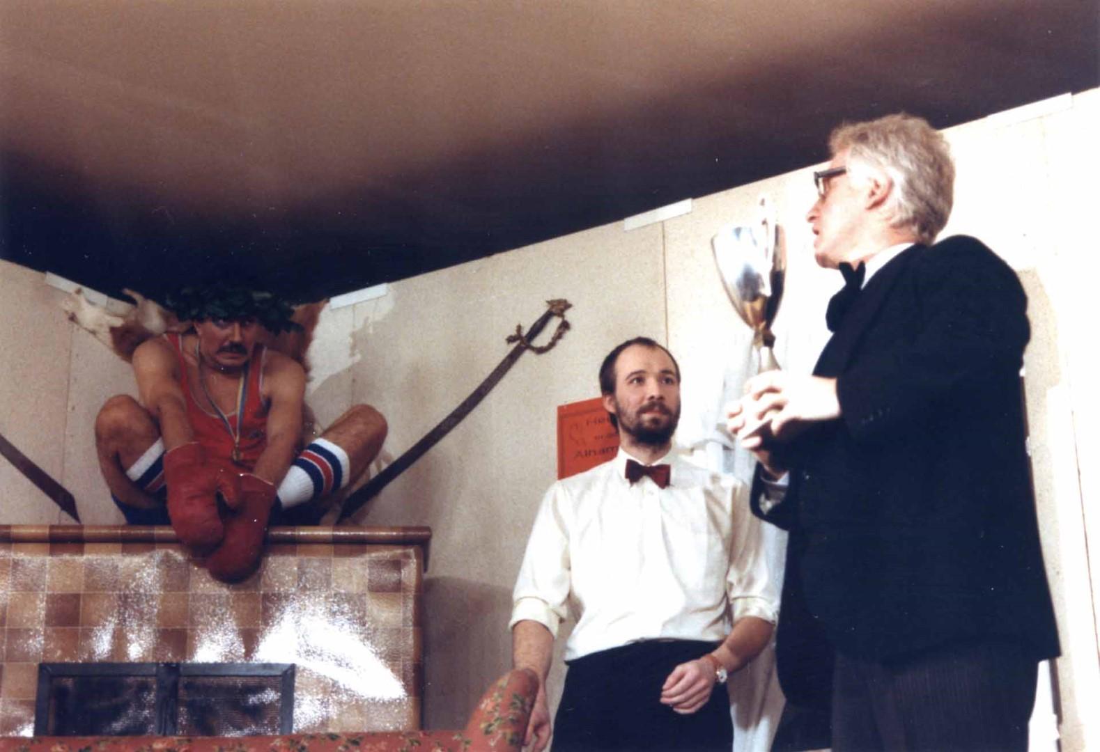 """1989: """"Friedrich Breitenbach"""" in """"Der Meisterboxer"""""""