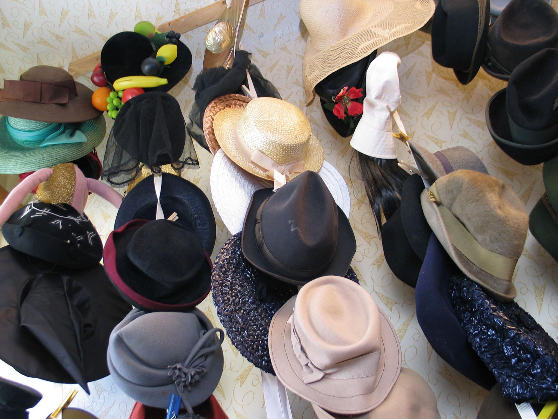 Unsere Hutsammlung