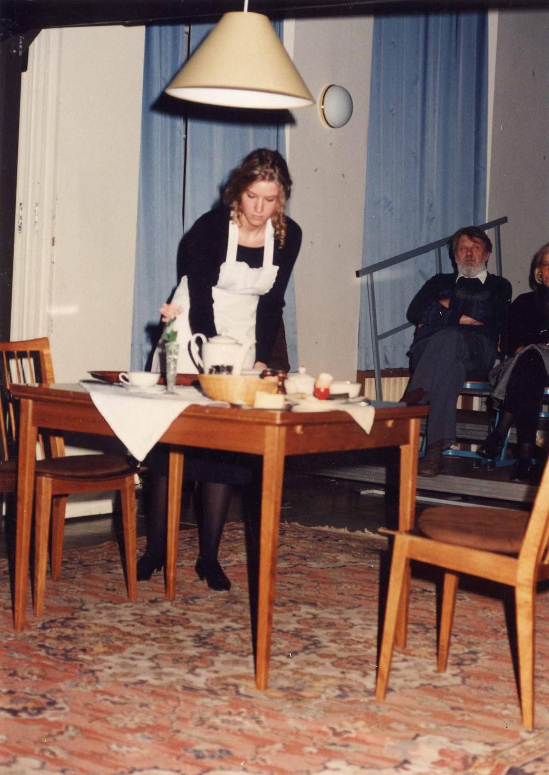 """1994: """"Anna"""" in """"Biedermann und die Brandstifter"""""""